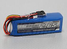 Turnigy 2650mAh 3S 11.1v 1C Transmitter LLF Battery Pack Futaba JR Spektrum TX