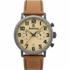 Timberland Richdale 15405JSQS/07 Men's Watch With Brown Leather Strap