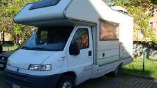camper  mansardato  fiat ducato 250 turbo diesel Anno fine 95 km 125153