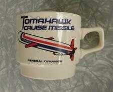 General Dynamics Tomahawk Cruise Missile Vintage Aerospace Coffee Mug 1970s