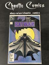Batman 405 DC Comics 1987 Frank Miller, Year One, 1st App Of Carmine Falcone!