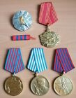 Yugoslavia Communist Lot of 5 Order , Medals , medal , Serbia Original Period Items - 13981