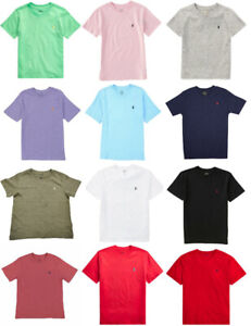 Ralph Lauren Polo Boys T Shirt V Neck T Shirt, RRP £26