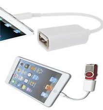 New OTG Host to USB 2.0 Female Adapter Cable fit for Apple iPad4 Ipad Mini