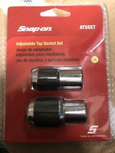 **NEW** Snap On 2-pc Adjustable Tap Socket Set ATSSET