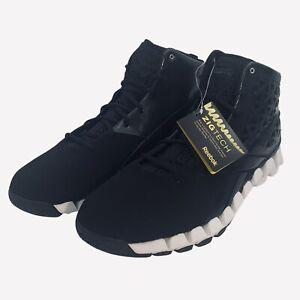 Reebok Zigtech Zig Slash Men's Basketball Shoes Black 4-V49614 US Size 15S