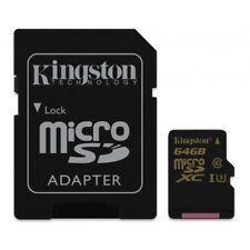 Kingston SDCG/64GB microSDHC Class U3 UHS-I 90R/45W + SD Adapter