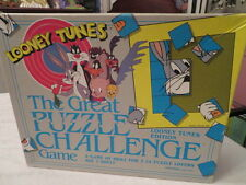 LOONEY TUNES THE GREAT PUZZLE CHALLENGE GAME - 1989 24 Character Puzzles
