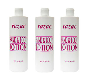 Razac Hand & Body lotion 474ml Special Offer (3 Pack Deal) **NEW STOCK**