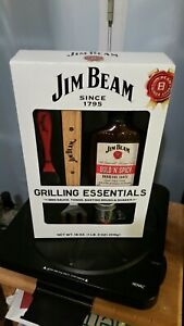 Jim Beam Grilling. Essentials - BBQ Sauce  Brush Tong And Shaker