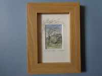 """""""NIGHTINGALE COTTAGE"""" A Delightful framed Watercolour Print by Sandra Mason"""