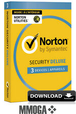 Norton Security 2018 - 3 Geräte 1 Jahr - PC/MAC/Android Internet Security - EU
