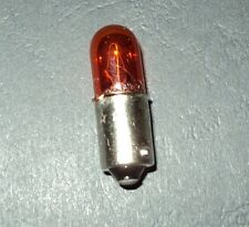 ►1X AMBER ORANGE WINKER LAMP INDICATOR TURN SIGNAL BULB LIGHT 5w H6W BA9S 64113