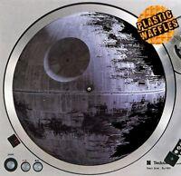 "Deathstar Darth Vader Wars #3 Slipmat Turntable 12"" Record Player DJ Audiophile"