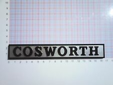Ford Sierra / Escort RS COSWORTH BOOT REAR BADGE EMBLEM 4x4 RS2000 Xr4i Turbo