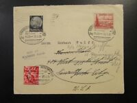 Germany 1938 Cover to USA / Readdressed  - Z6628
