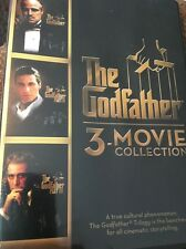 The Godfather 3-movie Collection (Dvd 2014) Factory Sealed Fast Shipping