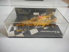 Minichamps F1 Formula 1 Jordan Mugen Honda 198 D. hill in Yellow on 1:43 in Box