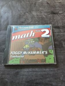 McGraw Hill Math Grade 2 Foggy McHammer's Treehouse Educational Software CD