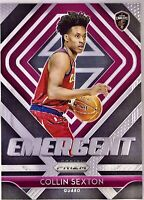 2018-19 Panini Collin Sexton Prizm Rookie Card RC Cleveland Cavaliers Emergent