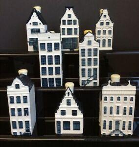 Bundle Delft KLM BOLS Miniature Houses 6 11 17 46 47 58 73 83
