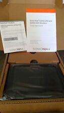 SonicWall SOHO 250 Series Firewall - Black