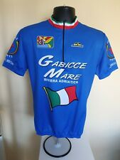 Vintage Giessegi Blue Cycling Jersey Junior XXXL