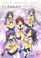 CLANNAD - COMPLETE SERIES COLLECTION - DVD - REGION 2 UK