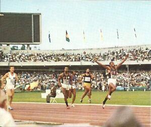 Tommie Smith - Olympic Games Mexico 1968 - Gloria Bilderdienst - Original 1968