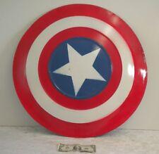 "Captain America Metal Shield Costume Film Television Prop Super Hero 24.5"""