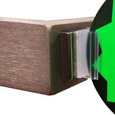 Clear Magnetic Card Grip Sign Holder Gripper for Metal Pallet Rack 10 Pcs