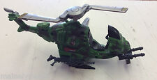 2002 Hasbro G.I Joe Small Helicopter Incomplete! Sound Untested! See Pics!