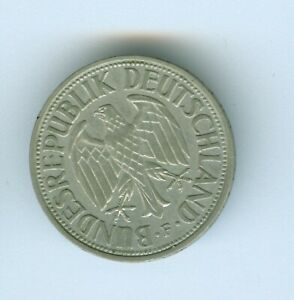 GERMANY 1961 G MARK--UNCIRCULATED
