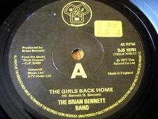 """La banda Brian Bennett-Le ragazze di nuovo a casa 7"""" in vinile"""