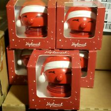 Hoptimist Baby Bimble Plastic Bobble Head Red Santa  Hans Gustav Ehrenreich NEW