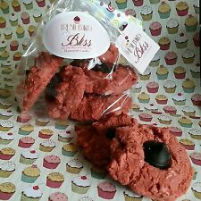 Red Velvet Cookies. Scented Soy Candle. Dessert candles that looks Yummy