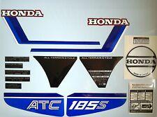 Honda ATC 185s Stickers Set Warning Advice Trike ATV 185 1983 Sticker