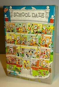 Springbok SCHOOL DAZE Mini Puzzle 100 Pcs PZL4728 Vintage Hallmark