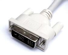 Monitorkabel digital DVI-D Single Link 18+1 Stecker 1,8m Anschluss an TFT LCD TV