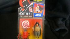 "Kenner Batman ""Animated Series"" PENGUIN w Hypno-Spin Umbrella Action Figure MOC"