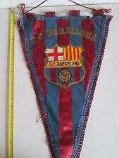 v2 gagliardetto BARCELONA FC football club calcio pennant fanion spain