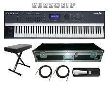 Kurzweil Artis 88 Key Stage Piano New BUNDLE 1 Includes: BENCH, CASE and MORE!