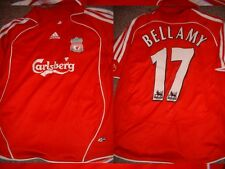 """Liverpool Bellamy Gales Youth Boys 30/32"""" M Camisa De Fútbol Jersey De Fútbol Adidas"""