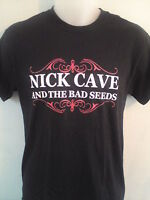 NICK CAVE & THE BAD SEEDS MEN MUSIC T SHIRT