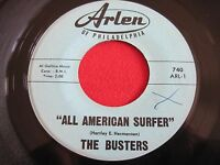 ORIG SURF 45 - THE BUSTERS - ALL AMERICAN SURFER / PINE TREE HOP - ARLENE 740