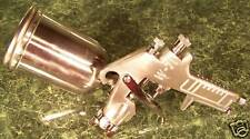 Deluxe Gravity Feed Air Paint Spray Gun Tool sprayer Tool, cleaning set included