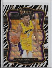 2017-18 Panini Select Premium Level Zebra Prizm LARRY NANCE JR