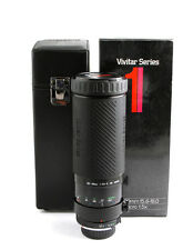 Vivitar Series 1 100-500mm f5.6-8 lens for Minolta MD mount