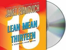 Stephanie Plum Novels: Lean Mean Thirteen 13 by Janet Evanovich (2007, CD,...
