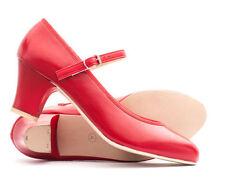 Chaussures, chaussons de danse rouge